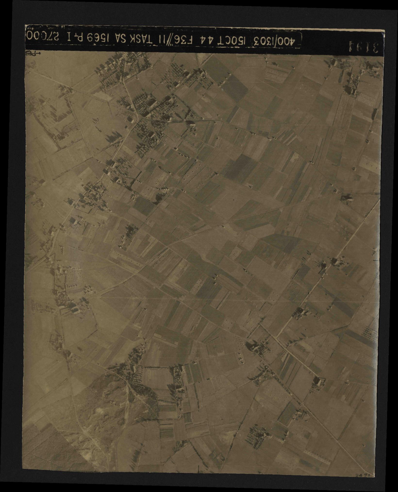 Collection RAF aerial photos 1940-1945 - flight 178, run 23, photo 3194