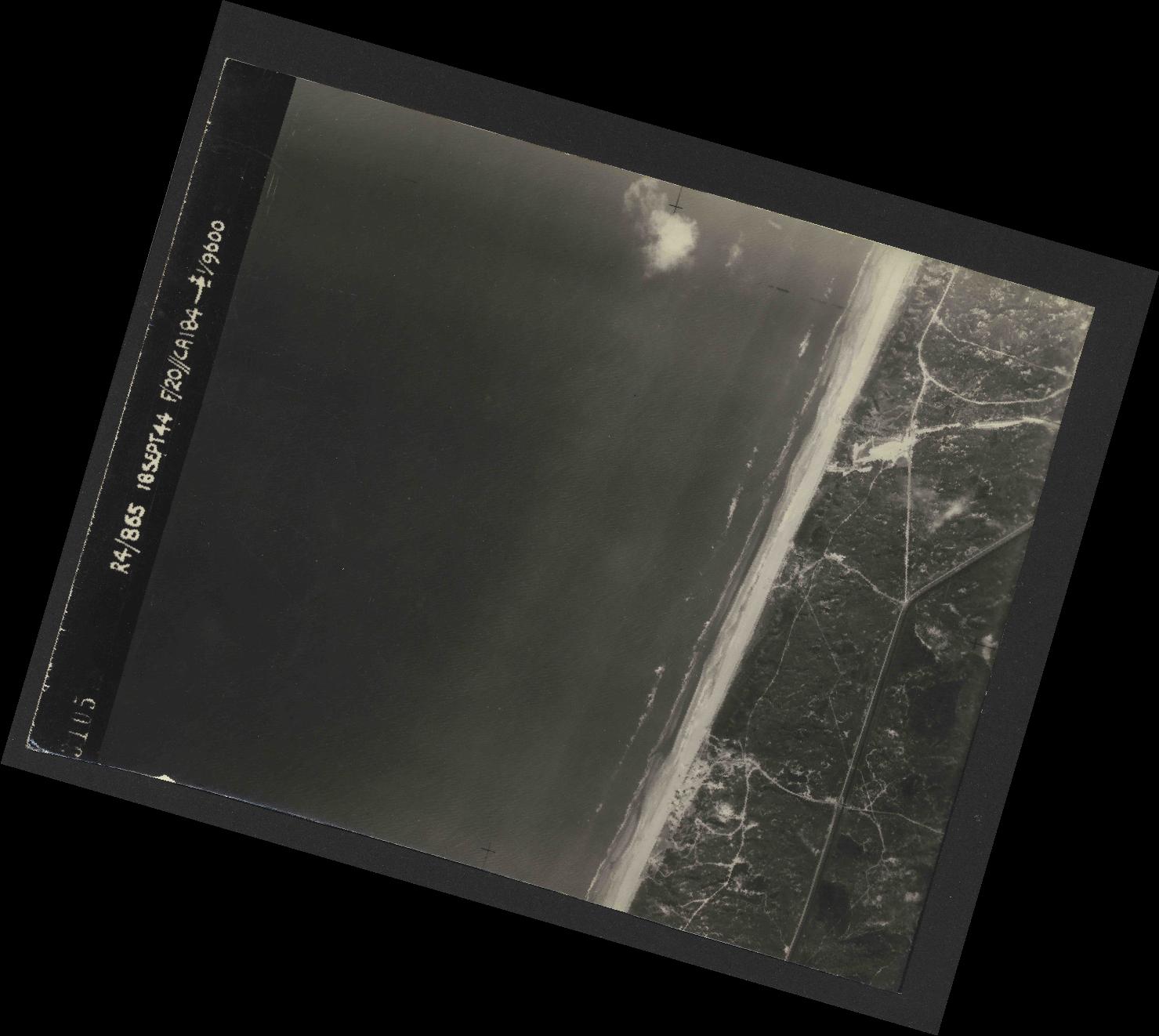 Collection RAF aerial photos 1940-1945 - flight 280, run 09, photo 3105