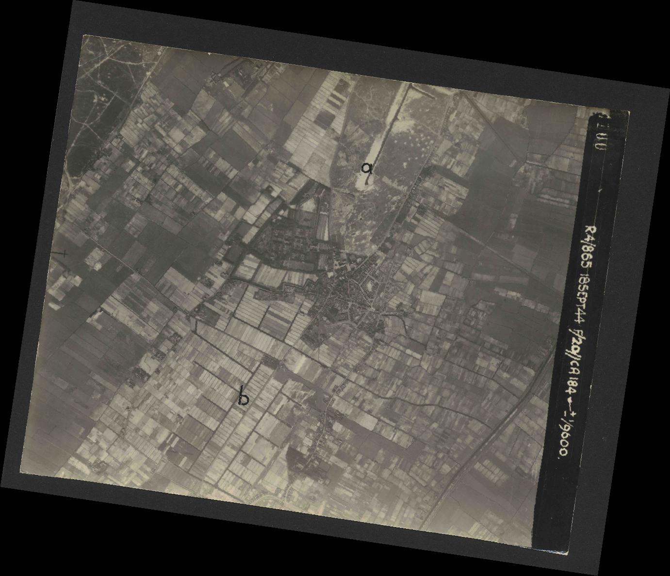 Collection RAF aerial photos 1940-1945 - flight 280, run 10, photo 4100