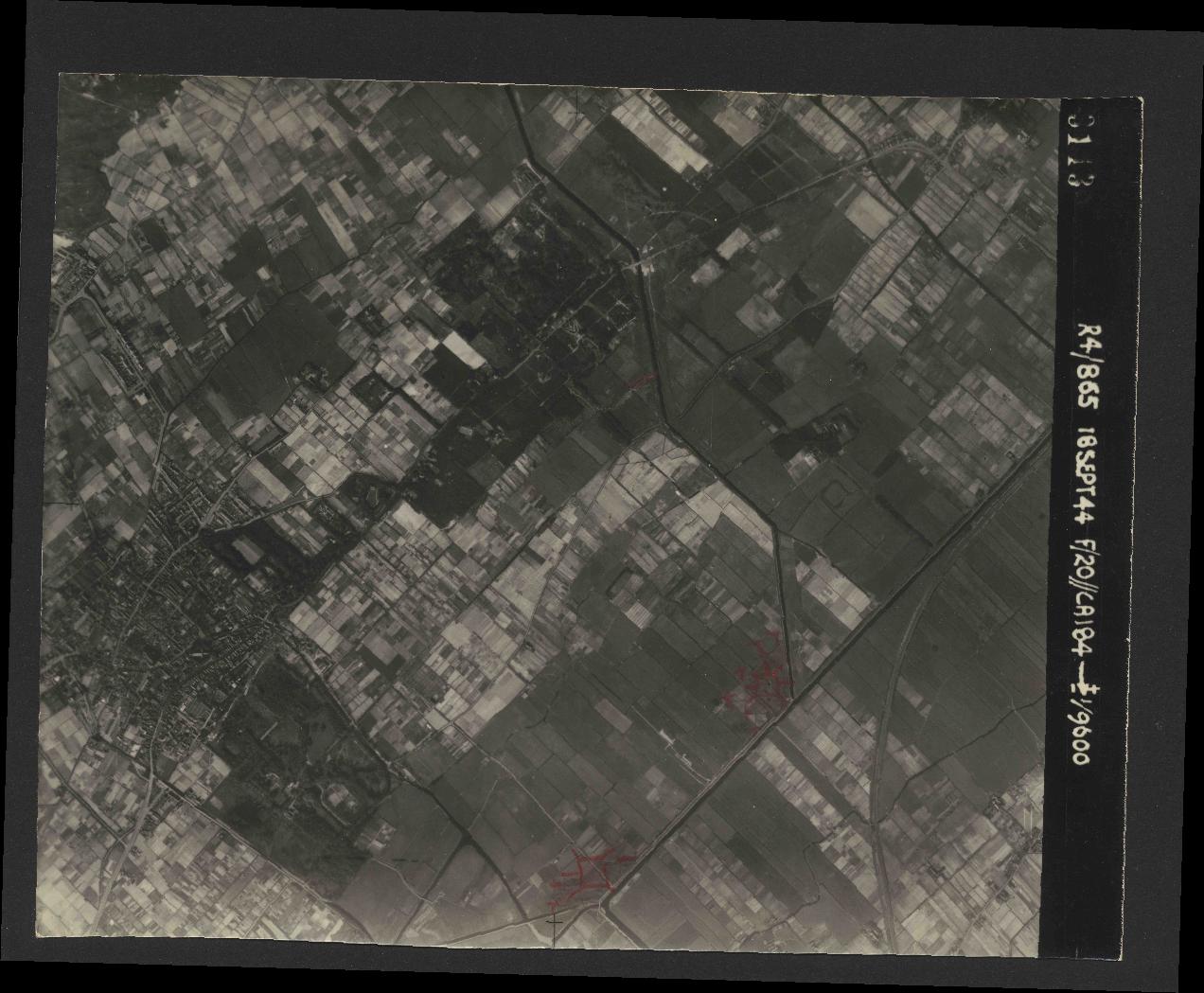 Collection RAF aerial photos 1940-1945 - flight 280, run 12, photo 3113