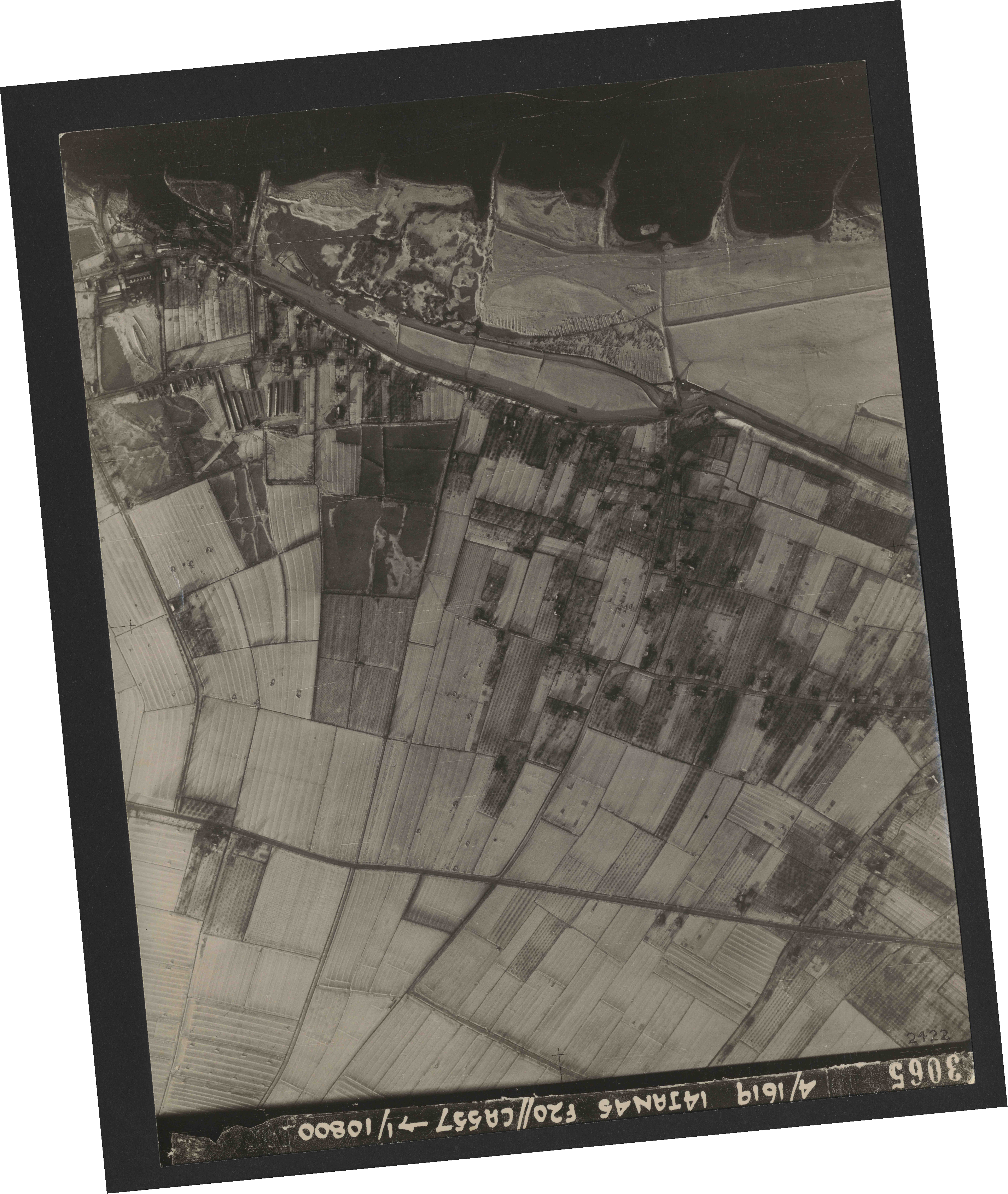 Collection RAF aerial photos 1940-1945 - flight 291, run 04, photo 3065
