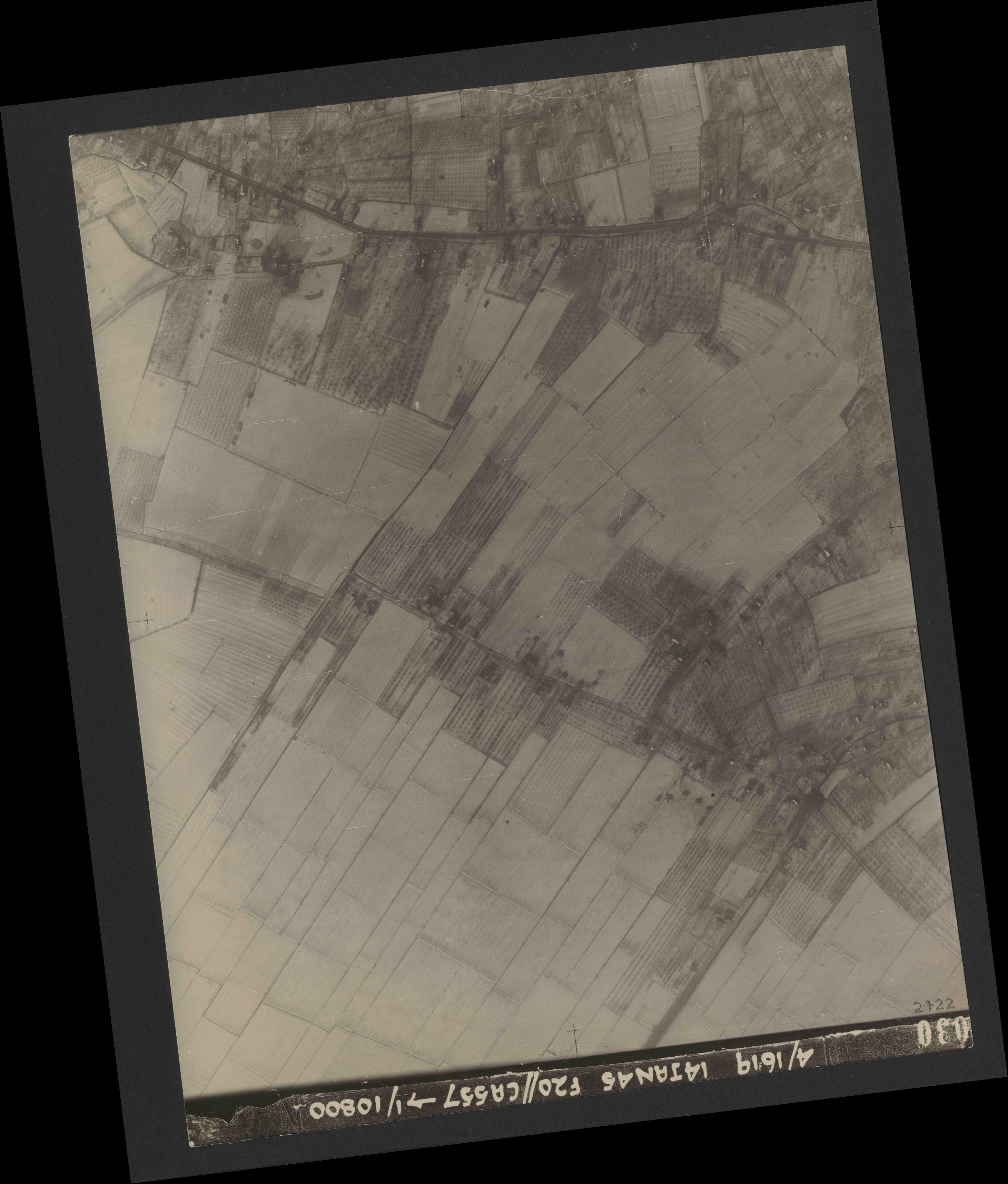 Collection RAF aerial photos 1940-1945 - flight 291, run 06, photo 3030
