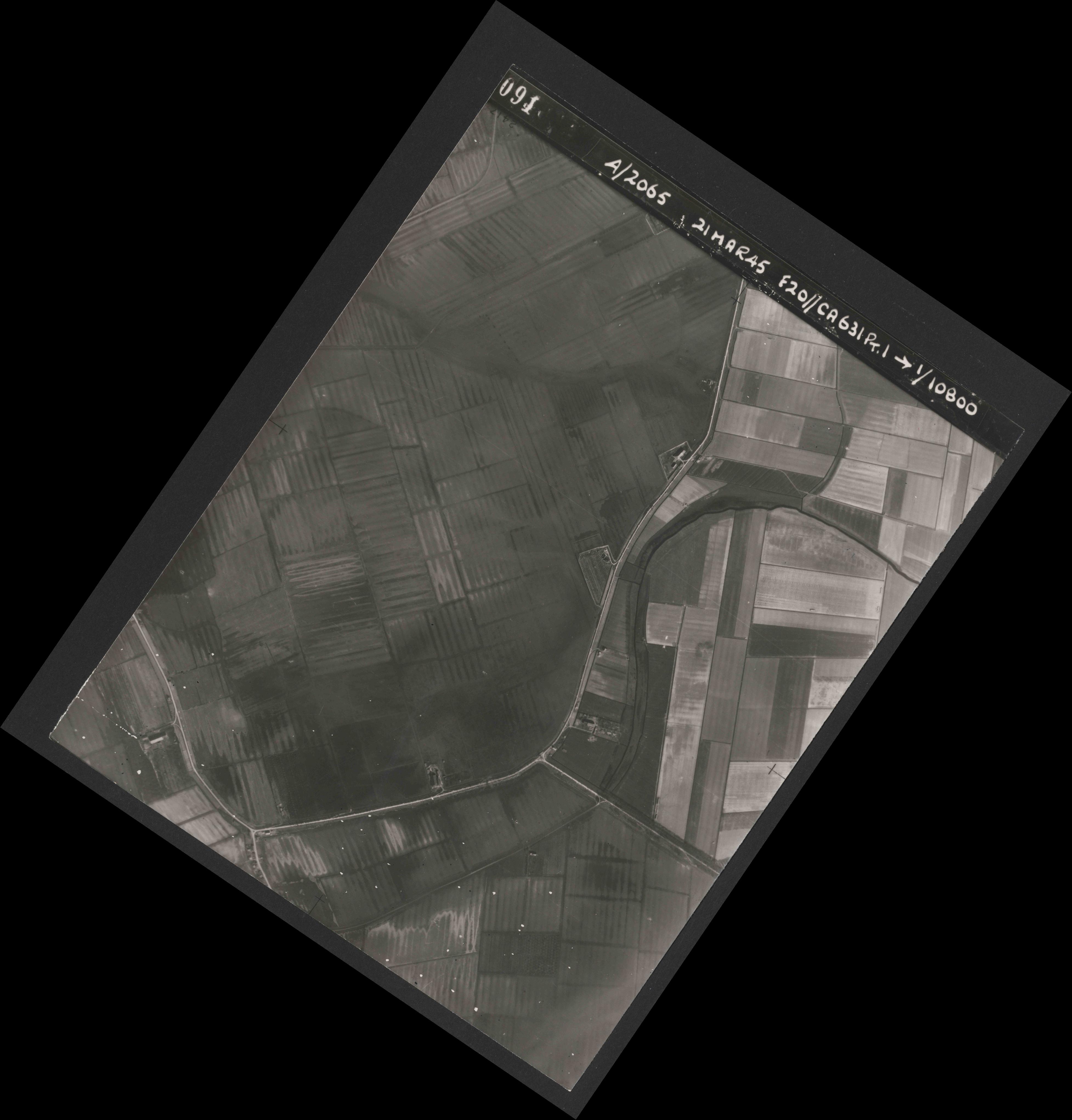Collection RAF aerial photos 1940-1945 - flight 308, run 03, photo 3091